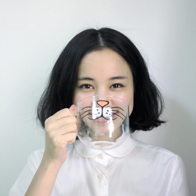 Cute Cat Face Printed Coffee Cups