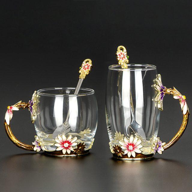 Stylish Glass Mug