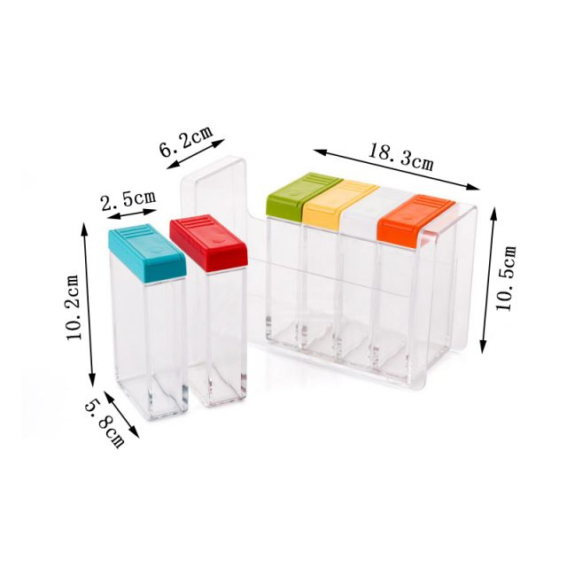Kitchen Spice Storage Containers