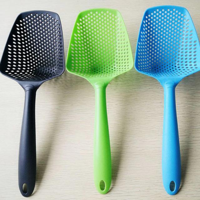 Eco-Friendly Lightweight Nylon Spoon Colander