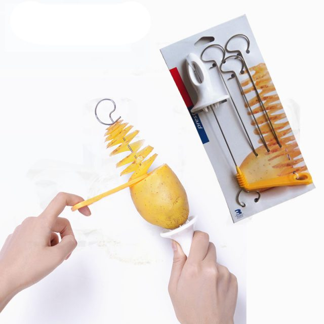 Spiral Potato Cutter for Kitchen