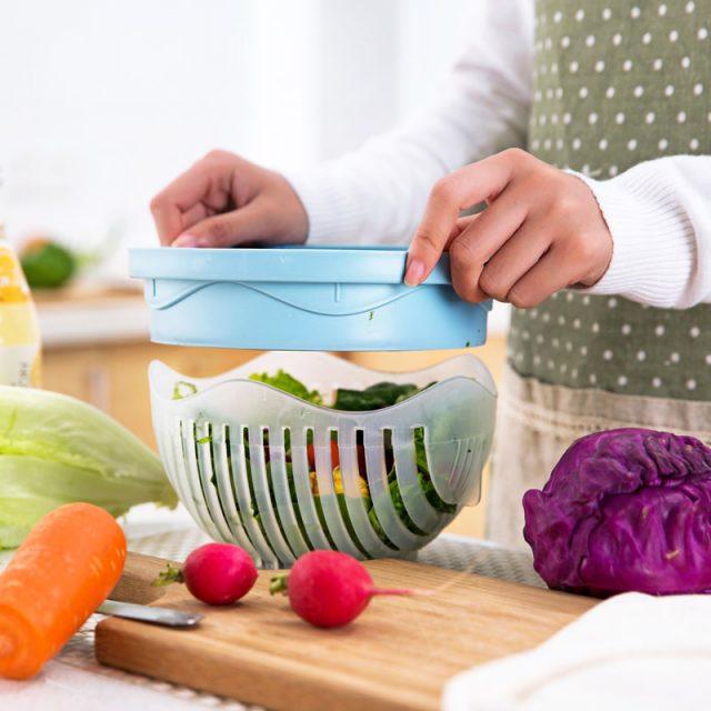 60 Seconds Salad Cutter Bowl