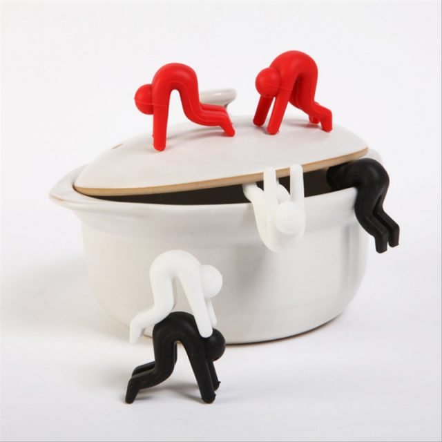 Cute Lid Risers for Saucepans