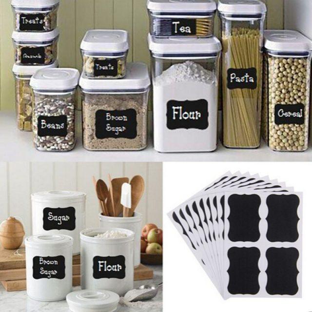 Labels for Kitchen 36 pcs Set