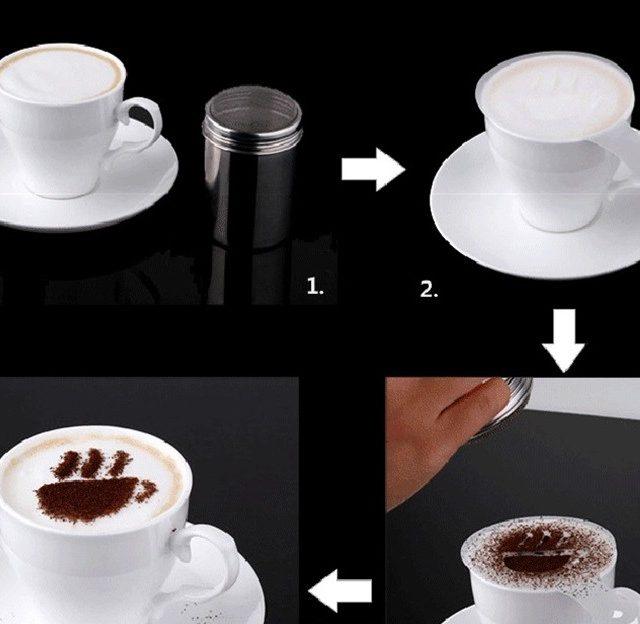 Creative Coffee Stencils