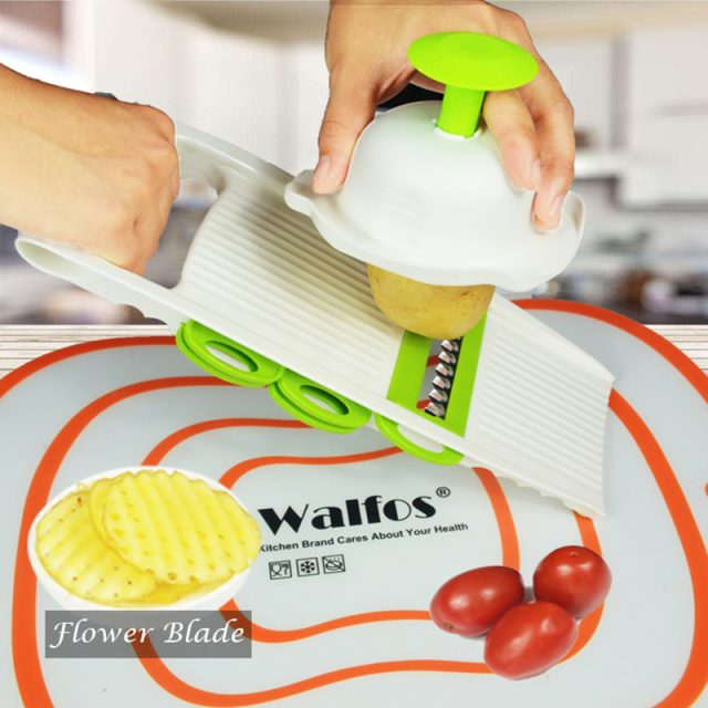 Stainless Steel Vegetables Grater Tool with 5 Blades