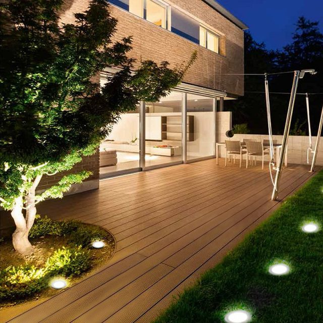 Waterproof Solar Powered Garden Pathway Light