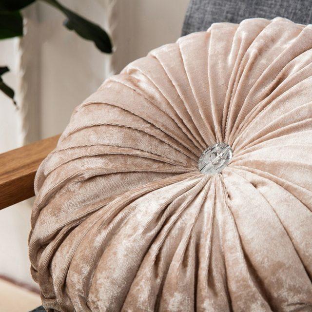 Luxurious Velvet Decorative Pillow
