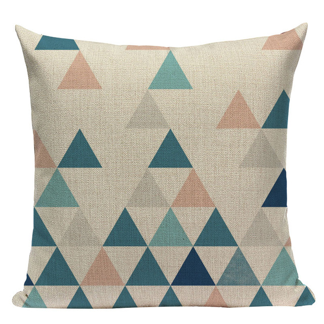 Nordic Style Linen Home Decor Cushion Cover