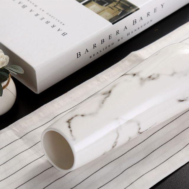 Marble Pattern Ceramic Vase