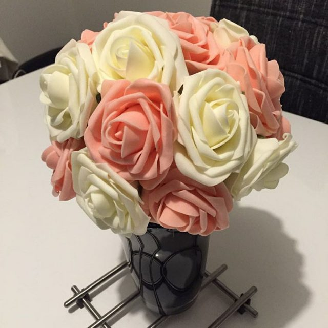 Rose Flowers Bouquet for Home Decor