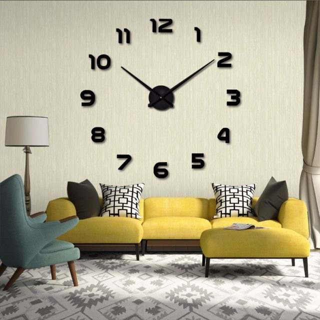 Original Large Clock Wall Sticker