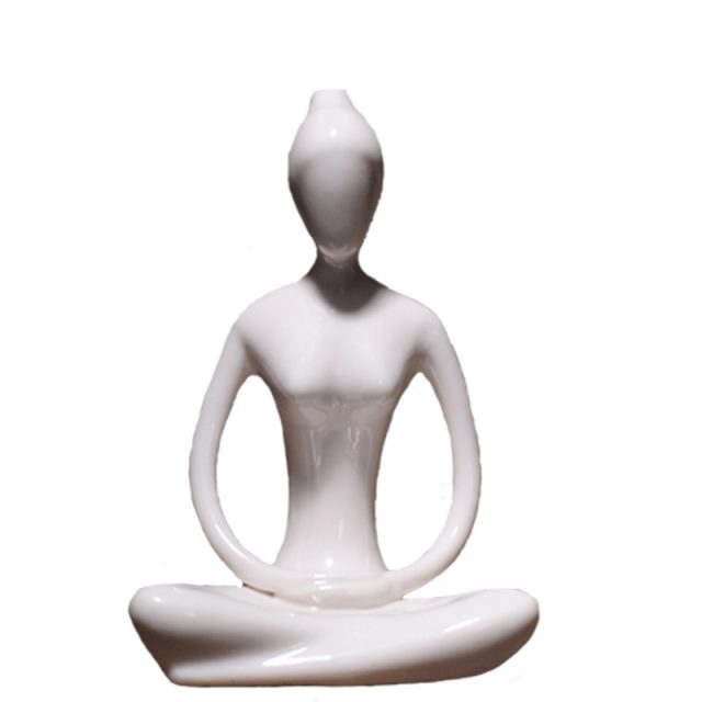 Abstract Yoga Asana Miniature Figurines