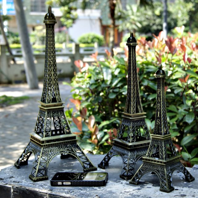 Vintage Paris Eiffel Tower Souvenir