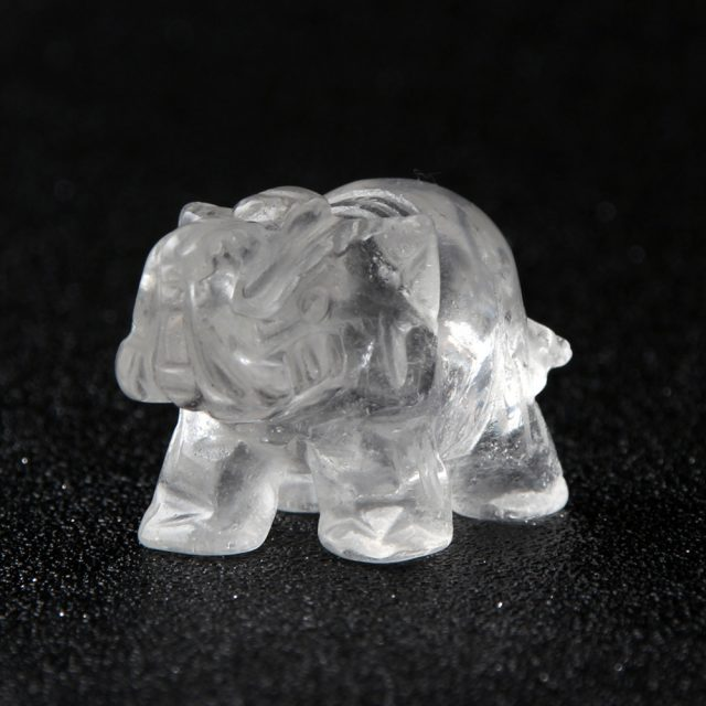 Natural Stone Carved Elephant