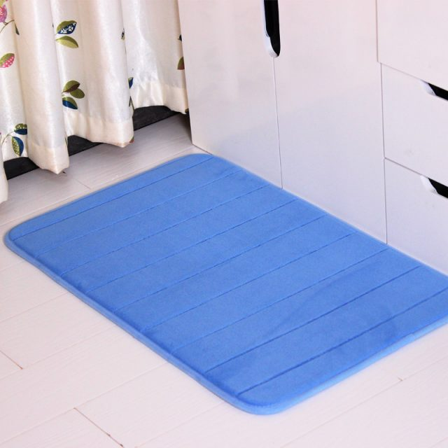 Water Absorbing Anti-Slip Bathroom Rug