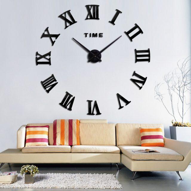Modern Quartz Wall Sticker Clock