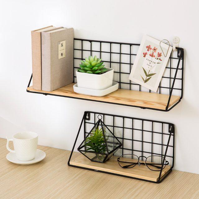 Unique Iron Wall Shelf