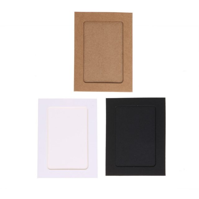 Modern Kraft Hanging Wall Photo Frames 3/5/6 inch