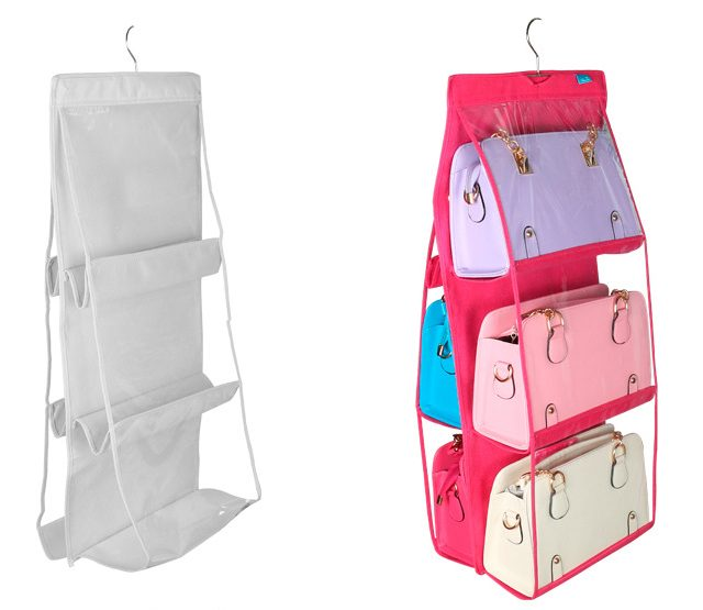 Eco-friendly Hanging Closet Organizer