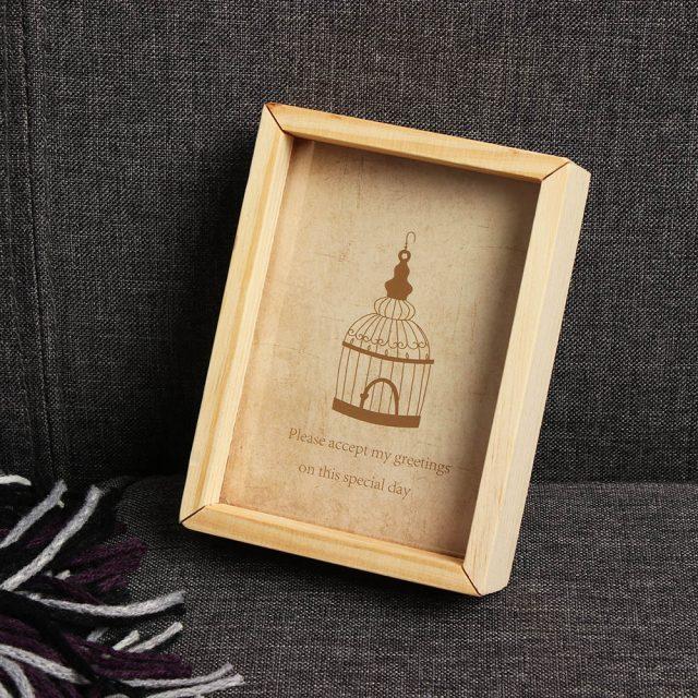 Wooden Vintage Photo Frame For Home Decor