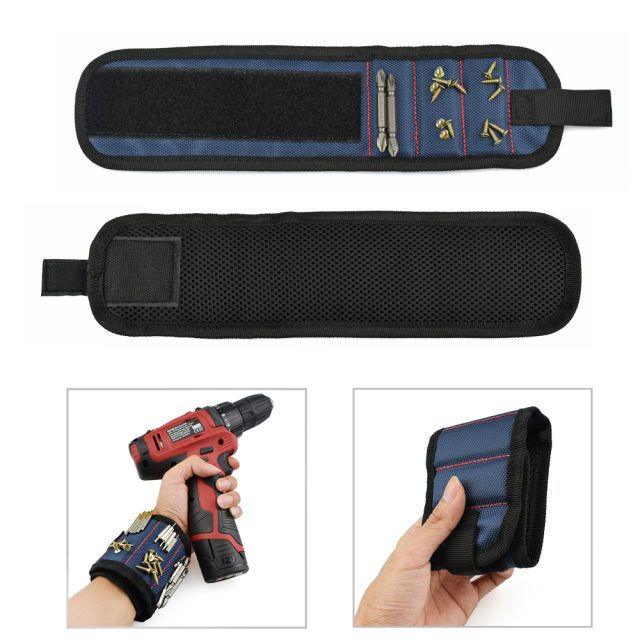 Magnetic Wristband Small Tools Holder