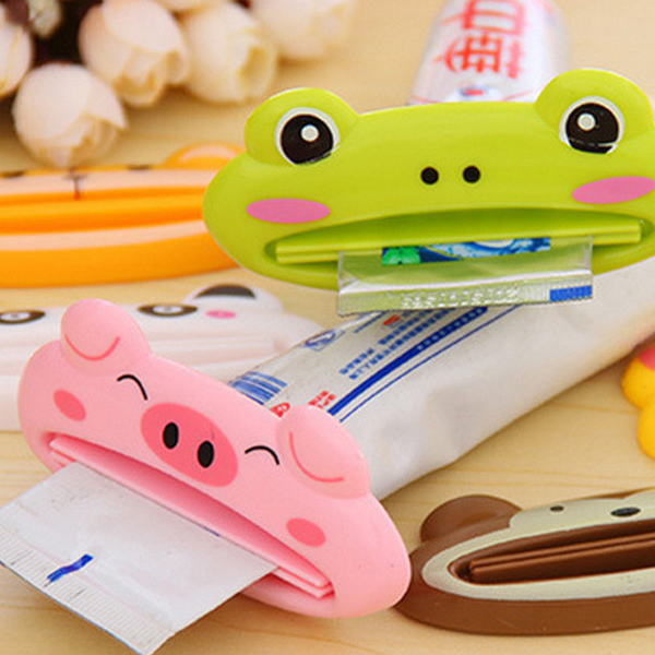 Cute Animal Toothpaste Squeezer