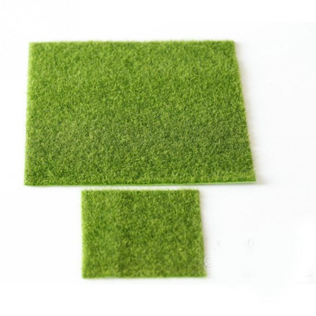Simulated Lawn for Garden Decor