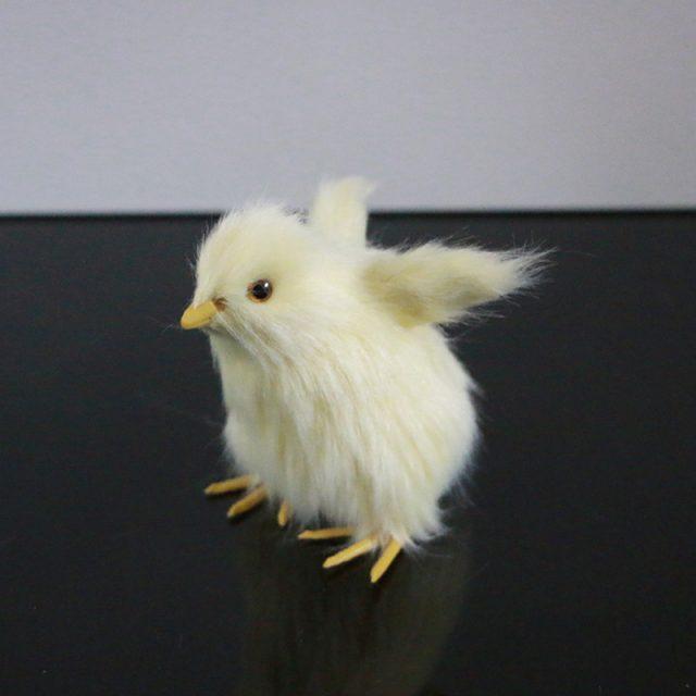 Realistic Baby Chicken Garden Figurine