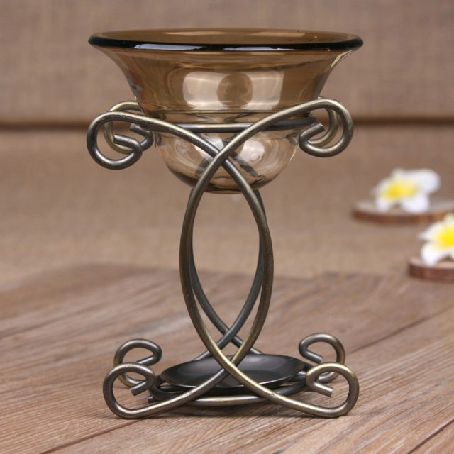 Creative Style Metal Curl Aroma Lamp