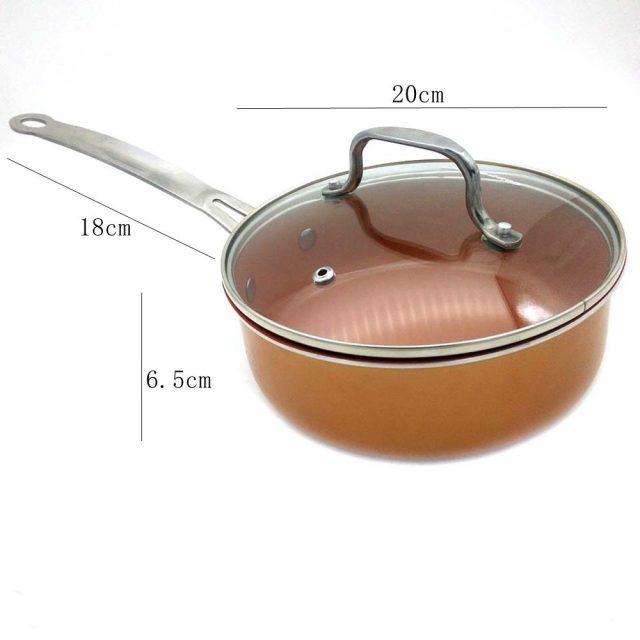 Non-Stick Ceramic Coated Aluminum Alloy Pan