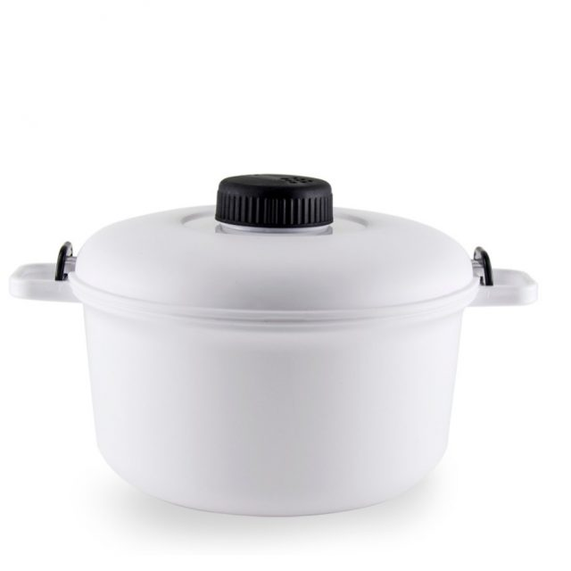 2.5L Plastic Pressure Cooker Kitchen Gadget