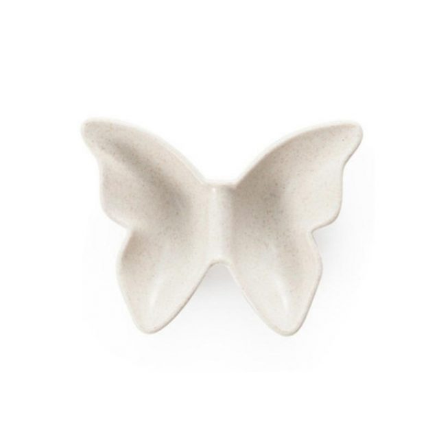 Butterfly Shaped Wheat Straw Plates