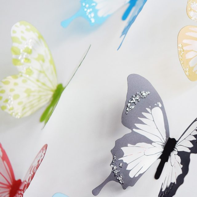 3D Butterflies Shaped Wall Stickers